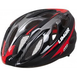 Casco Limar 660 Superlight negro y rojo