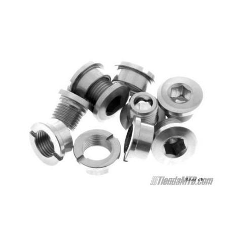 Tornillos cortos de platos aluminio