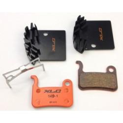 Pastillas freno de disco con disipador para Shimano XTR, XT, SLX, Deore, Saint y Hone antiguos XLC Pro BP-H11
