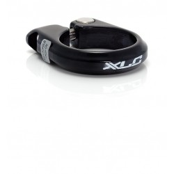 Cierre de tija XLC con tornillo Negro