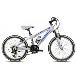 "TORPADO T625 TIGRE 20"" Aluminio Azul/Blanca"