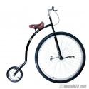 "Bicicleta antigua tipo Penny-Farthing de rueda alta de 36"""