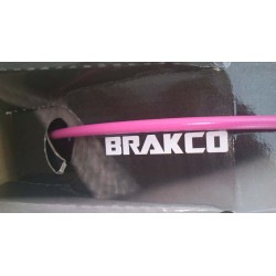 Pink BRAKCO Outer Casing for Brake Cables with teflon 2,5 meters