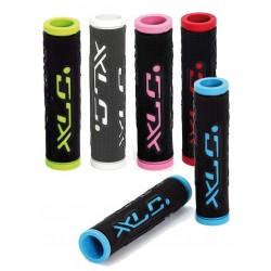 XLC Bar Grips 'Dual Colour' GR-G07 multiple colors, 125 mm