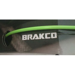 Green BRAKCO Outer Casing for Brake Cables with teflon 2,5 meter