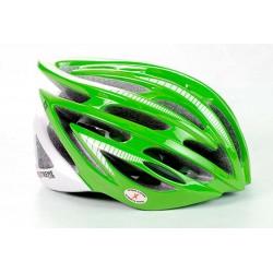 Extreme E2 helmet green and white