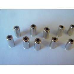 Inox gear outer casing caps 10u.