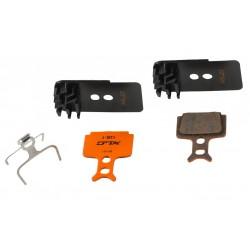 Pastillas freno de disco con disipador Formula Mega, The One, C1, R1, RR1, RX, RO y T1 XLC Pro BP-H25