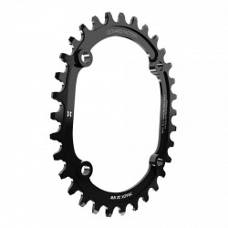 MTB Oval chainring for 10, 11 and 12spd Leonardi Factory Track