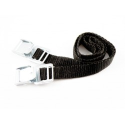 Rim safety straps with buckle for bike carriers 33cm