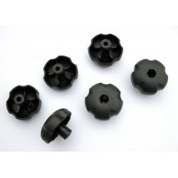 Cabeza para apretar a mano tornillos hexagonales de 8mm (6uds)