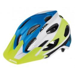 Casco Alpina Carapax Enduro blanco y azul