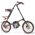 Bicicleta plegable Strida EVO Deluxe 3 velocidades