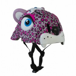 Casco infantil Crazy Safety Gato Rosa