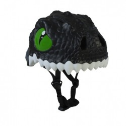 Casco infantil Crazy Safety Dragón Negro