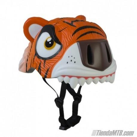 Casco infantil Crazy Safety Tigre