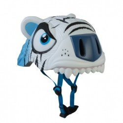 Casco infantil Crazy Safety Tigre Blanco