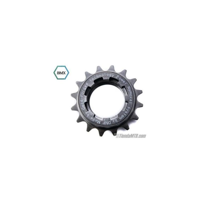 Chromed threaded freewheel sprocket for Freewheel sprocket for electric motor