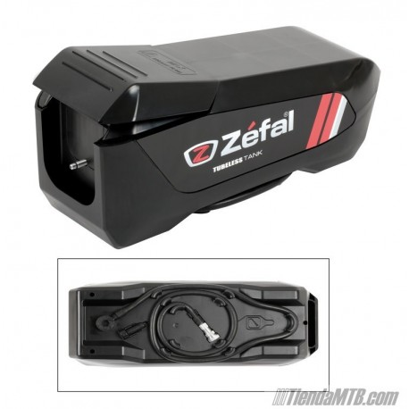 Tubeless Tank Zefal inflador tubeless rellenable