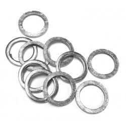 10 Arandelas de aluminio 6mm u 8mm