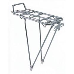 """Portaequipaje de aluminio, plata 24-28"""""""