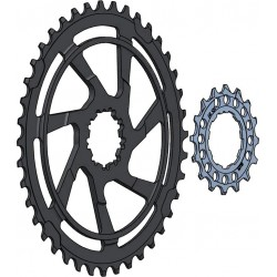 Miche 42T sprocket for Shimano and SRAM 10s