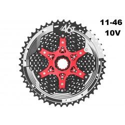 10 speed 11-46T Cassette Sunrace MX3