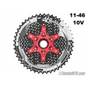 Cassette 11-46T Sunrace MX3 10 velocidades