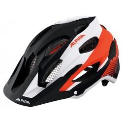 Alpina Carapax Enduro helmet black/white/red