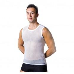 Camiseta interior de rejilla hombre