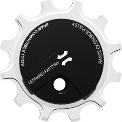 Descentralized pulley for 10spd 11spd or 12spd Leonardi ADV Pulley
