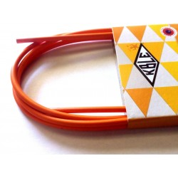 Orange Outer Casing for Brake Cables with teflon 2 meter