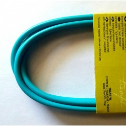 Light blue torquoise Outer Casing for Gear Cables with teflon 2 meter