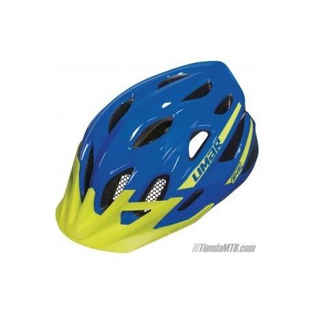 Casco Limar 545 azul y verde