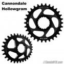 Plato para Cannondale Hollowgram Leonardi Gecko Direct Mount 11v y 12v Redondo u Ovalado