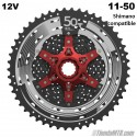 Cassette 11-50T 12 velocidades Sunrace MZ90