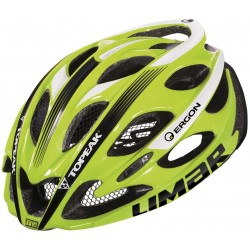 Casco Limar Ultralight+ 175gr amarillo team Topeak