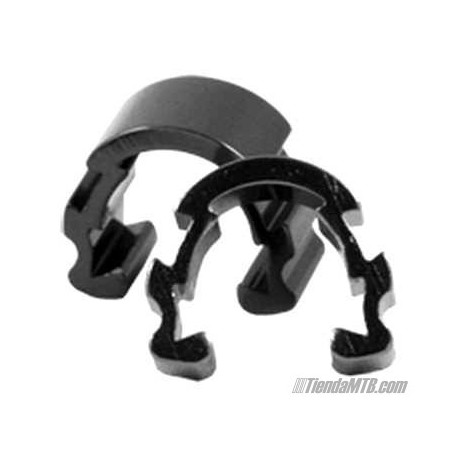 Guias para funda en aluminio negro