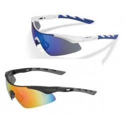 XLC Komodo mirror sunglasses with 3 lenses