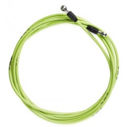 Latiguillo para frenos de disco color verde 3m