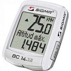Sigma BC 14.12 cyclecomputer with altimeter