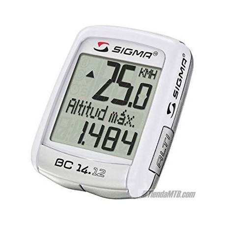 Cuentakilometros Sigma BC 14.12 con altimetro