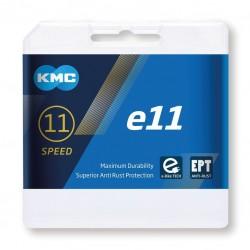 Cadena para ebikes de 11 velocidades KMC e11 EPT anticorrosion 122 eslabones