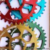Monoplato para SRAM Speed4Riders Direct Mount 10v, 11v o 12v Eagle, Redondo
