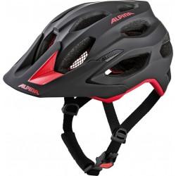 Casco Alpina Carapax Enduro negro y rojo