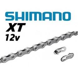 Cadena 12v Shimano XT CN-M8100 126 eslabones