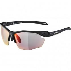 Alpina TWIST FIVE HR Photochromic sunglasses Cat 1-3 Black
