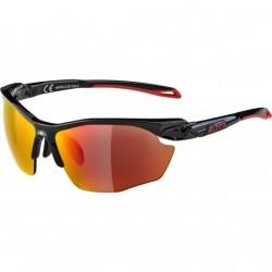Alpina TWIST FIVE HR sunglasses Cat 3 Black-Red