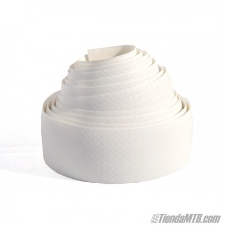 Cinta de manillar VELOX Karbon blanca