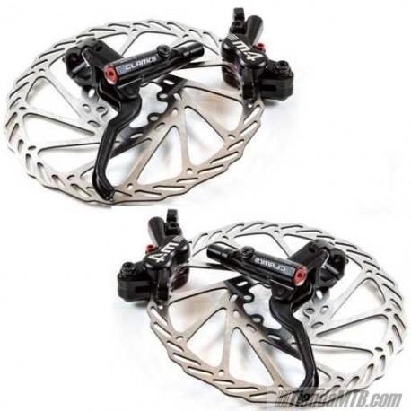 Microprocesador sal Esencialmente  Hydraulic brake disc Clarks M4 4 pistons - TiendaMTB.com